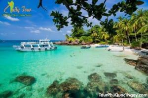 Tour 2 đảo Phú Quốc : Khám Phá Hòn Móng Tay Hòn Mây Rút